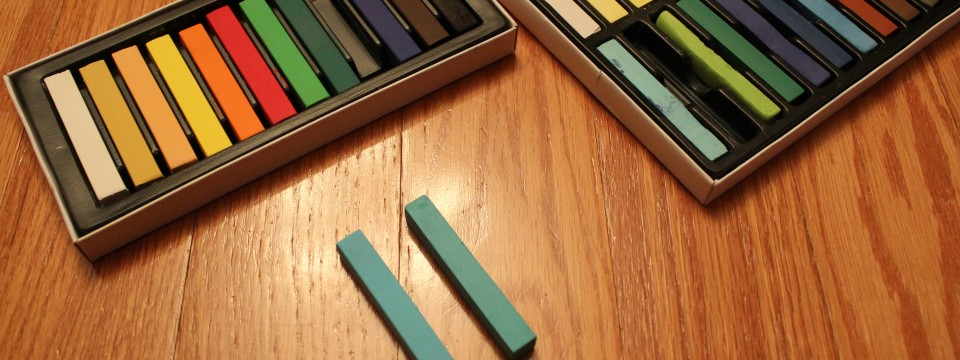 Using Hair Chalk vs Soft Pastels