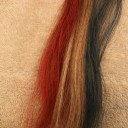 Patriotic Hair Chalk For Memorial Day