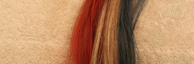 Patriotic Hair Chalk For Memorial Day