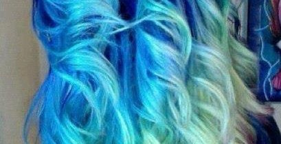 Temporary Hair Color With Hair Chalk