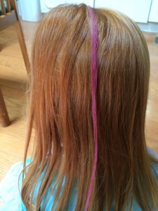 How To Apply Hair Chalk With A Sealant | Hair Chalk How To